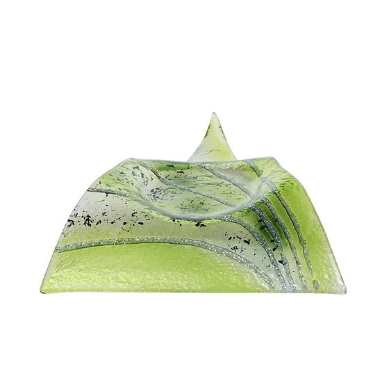 Green Fusion candle holder (22x18cm)