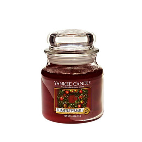 Scented candle in a medium glass `` fragrance '' (65-90h, 411g)