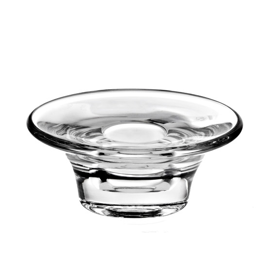 Crystal Candle Holder Lucio 3,5cm, transparent, Glas